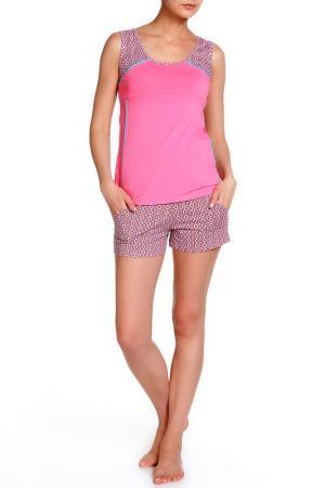 Комплект ALFA. Цвет: розовый
