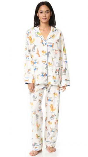 Пижама Happy Hanukkah PJ Salvage. Цвет: золотой