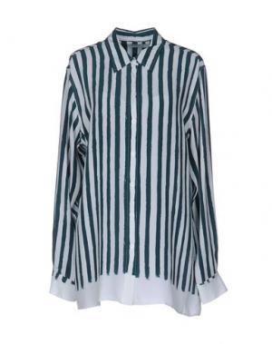 Pубашка EQUIPMENT FEMME. Цвет: темно-зеленый