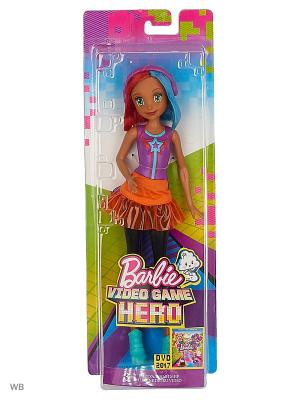 Подружки Barbie из серии и виртуальный мир в ассортименте. Цвет: оранжевый