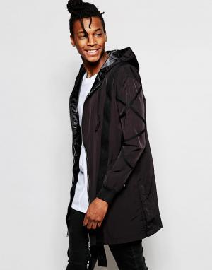 BOY London Свободная куртка. Цвет: черный