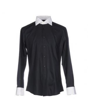 Pубашка HARRY & SONS. Цвет: темно-синий