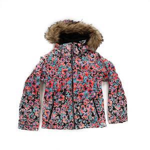 Куртка детская  Jetty Ski Madison Flowers True Roxy. Цвет: мультиколор