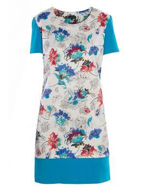 Платье Sarafan. Цвет: голубой