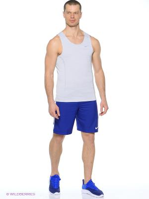 Шорты STRIKE WVN SHRT Nike. Цвет: синий, голубой, белый