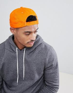 Nicce London Оранжевая кепка. Цвет: оранжевый
