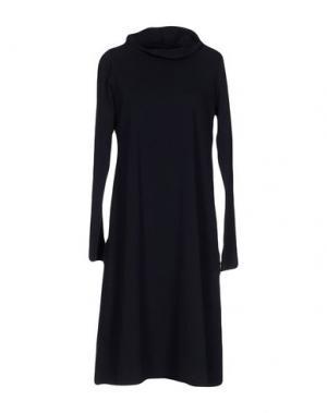 Платье до колена LABO.ART. Цвет: темно-синий