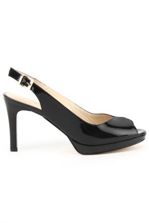 Туфли DERIMOD. Цвет: черный