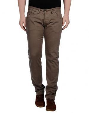 Повседневные брюки KEVIN UP. Цвет: хаки
