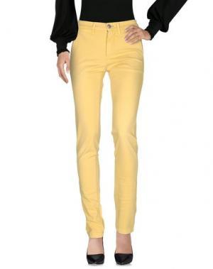 Повседневные брюки EMJEY. Цвет: желтый