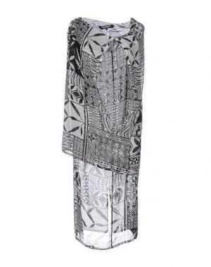 Платье до колена JUNYA WATANABE COMME des GARÇONS. Цвет: черный
