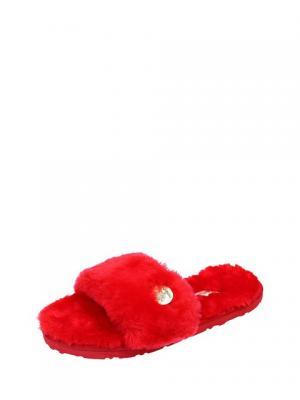 Тапочки Marissimo. Цвет: красный