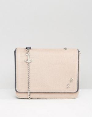 Fiorelli Большая сумка с клапаном Mary Read. Цвет: кремовый
