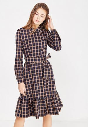 Платье Self Made. Цвет: коричневый