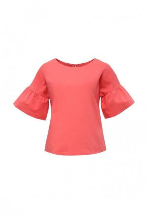 Блуза Baon. Цвет: коралловый