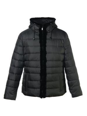 Куртка City Classic. Цвет: черный, коричневый