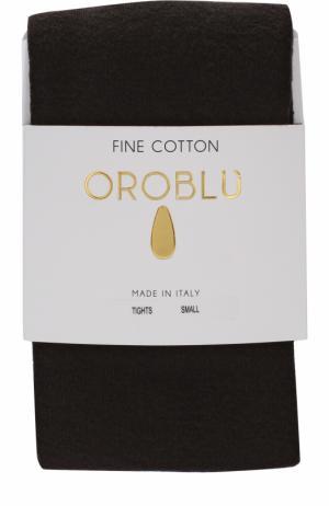 Хлопковые колготки Oroblu. Цвет: коричневый