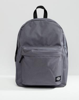 Dickies Темно-серый рюкзак Indianapolis. Цвет: серый