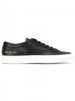 Lace up trainers Common Projects. Цвет: чёрный