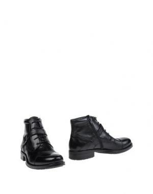 Полусапоги и высокие ботинки MALDINI. Цвет: черный