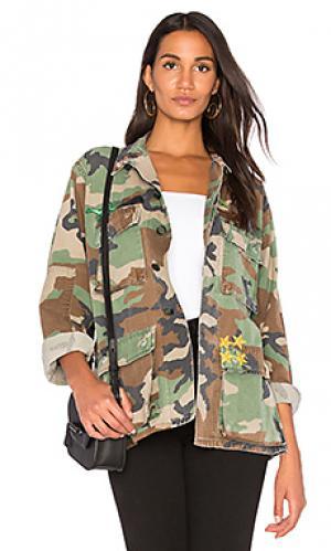 Куртка Harvey Faircloth. Цвет: военный стиль