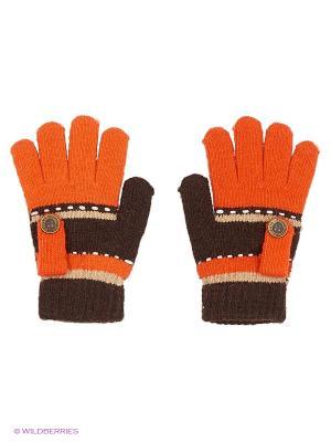 Перчатки Shapkoff. Цвет: терракотовый, темно-коричневый