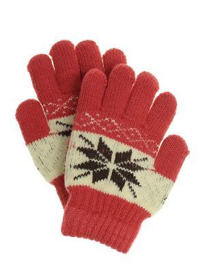 Перчатки детские Migura. Цвет: красный, черный, бежевый
