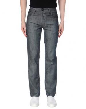 Джинсовые брюки TIGER OF SWEDEN. Цвет: синий