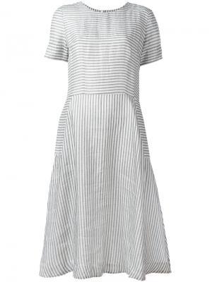 Расклешенное платье Chinti And Parker. Цвет: белый