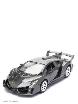 Машинка Ламборгини Венено AUTODRIVE. Цвет: темно-серый