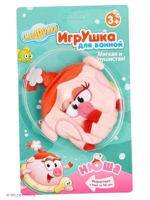 Игрушка для ванной Нюша Смешарики. Цвет: розовый