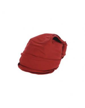 Головной убор SUPER DUPER HATS. Цвет: красно-коричневый