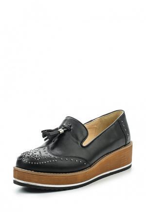 Туфли Wellspring. Цвет: черный