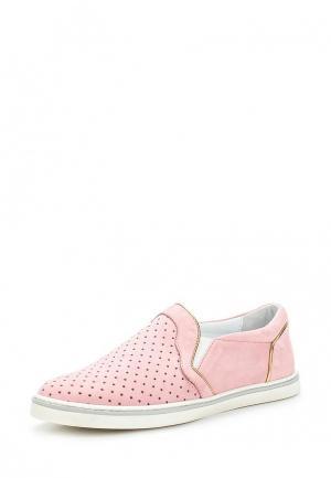 Слипоны Botticelli Limited. Цвет: розовый