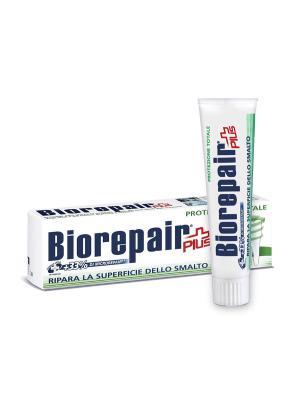 Для комплексной защиты полости рта, Total Protection Plus BIOREPAIR. Цвет: белый