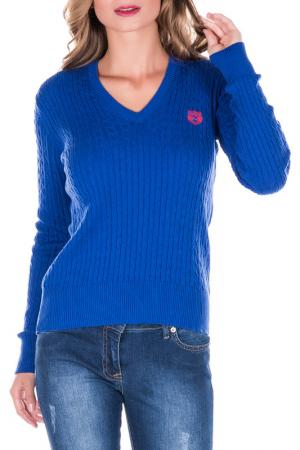 Пуловер GIORGIO DI MARE. Цвет: голубой