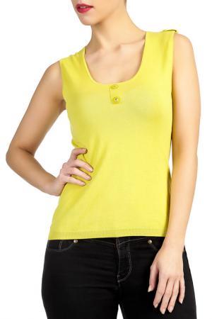 Блуза LES ATELIERS DE LA MAILLE. Цвет: желтый