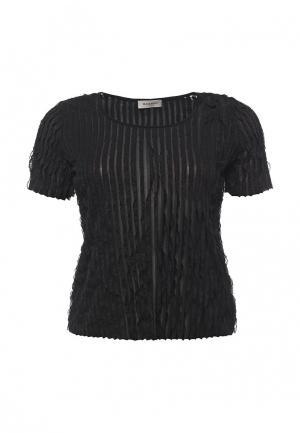 Блуза Bassini. Цвет: черный