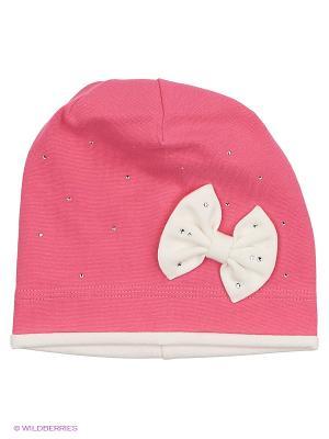 Шапка Elo-Melo. Цвет: розовый, белый