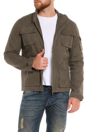 Куртка Top Secret. Цвет: коричневый