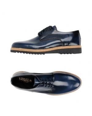 Обувь на шнурках THOMPSON. Цвет: темно-синий