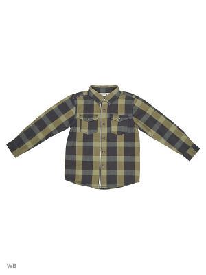 Рубашка NAME IT. Цвет: хаки
