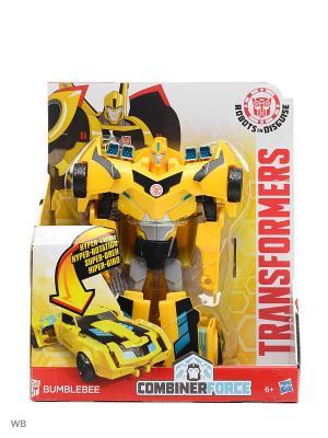 Трансформеры Роботс-ин-Дисгайс Гиперчэндж Transformers. Цвет: желтый, черный