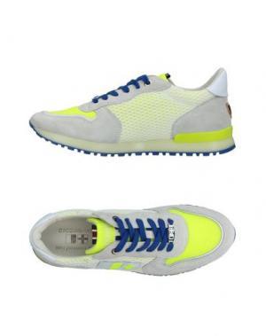 Низкие кеды и кроссовки D'ACQUASPARTA. Цвет: светло-серый