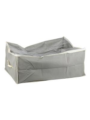 Чехол STANDART Grey для вещей, 30Н*50*60 см WHITE FOX. Цвет: серый