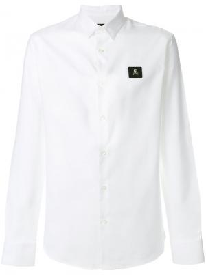 Рубашка Clarence Philipp Plein. Цвет: белый