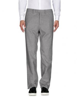 Повседневные брюки NORSE PROJECTS. Цвет: светло-серый