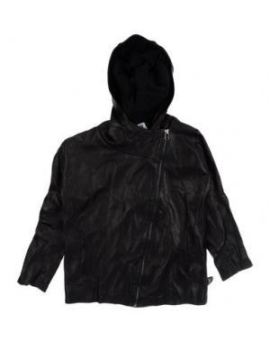 Куртка NUNUNU. Цвет: черный