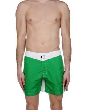 Шорты для плавания RRD. Цвет: зеленый