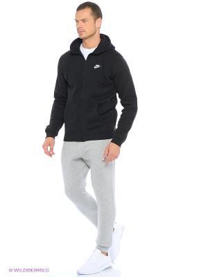 Брюки M NSW JGGR CLUB FLC Nike. Цвет: темно-серый, белый